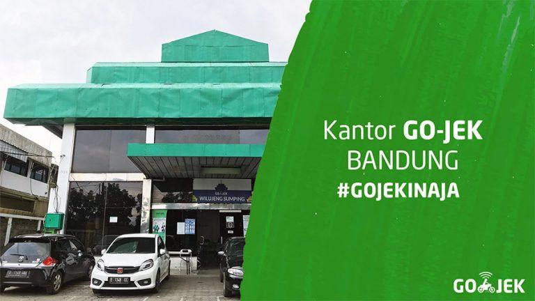 Lokasi kantor Gojek di Bandung