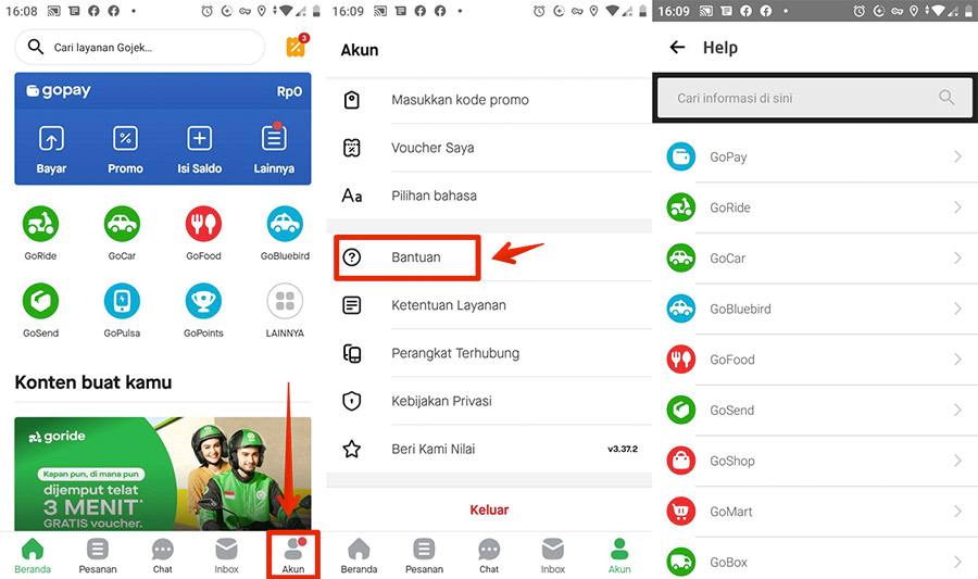 Layanan Gojek Customer Service Call Center Telepon 24 Jam Onlinejek