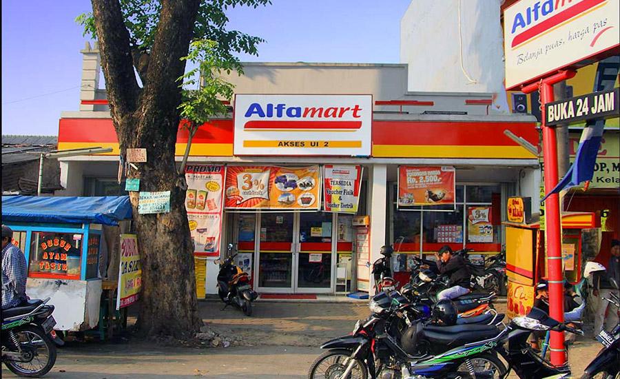 Isi saldo GoPay di Alfamart