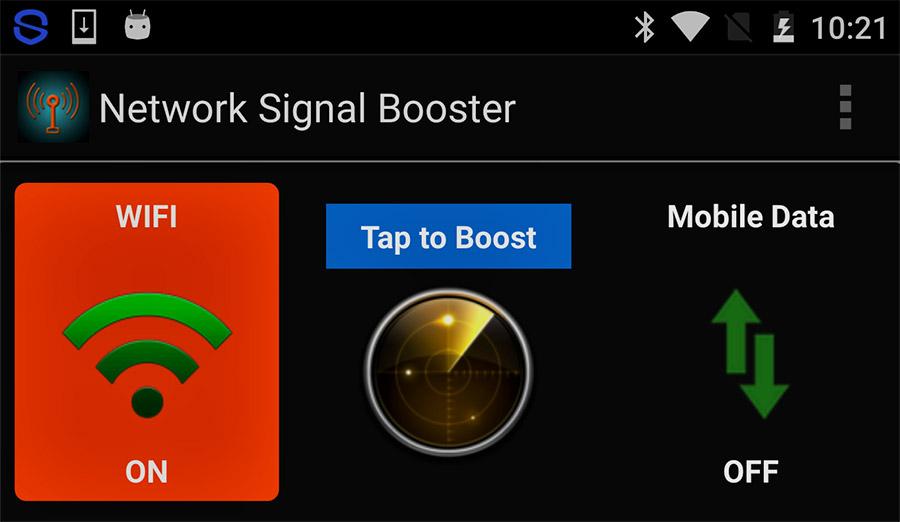 Contoh salah satu aplikasi penguat sinyal