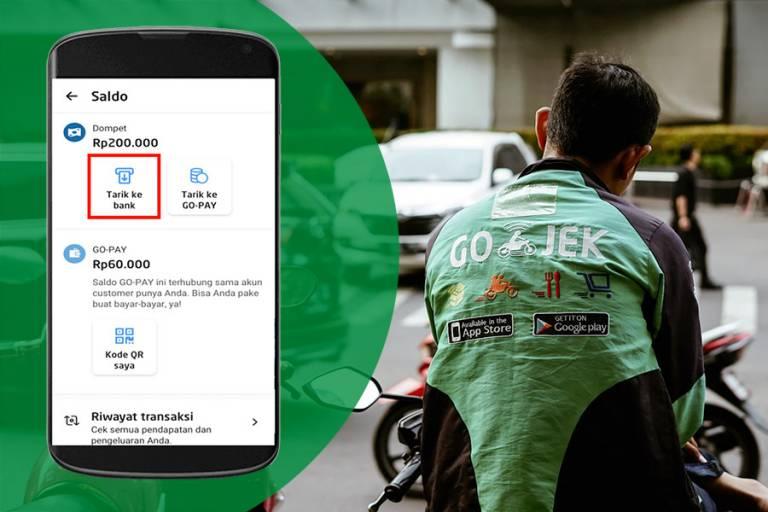 Cara atasi masalah withdraw saldo driver Gojek