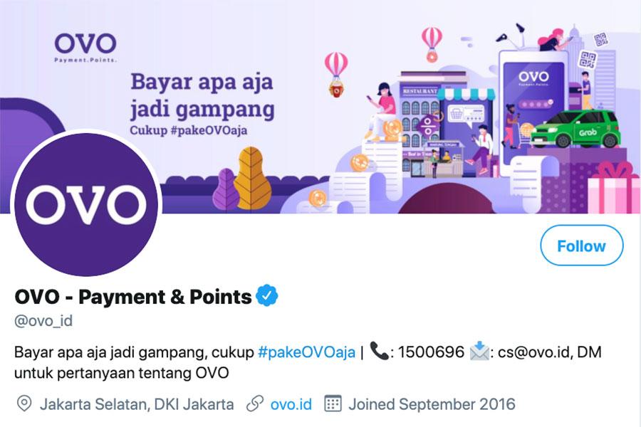 OVO menyediakan beberapa kanal bagi Anda untuk menghubungi layanan customer service mereka