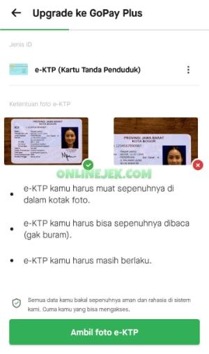 Siapkan KTP atau paspor kamu untuk di foto