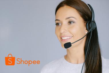Layanan call center dari customer service Shopee