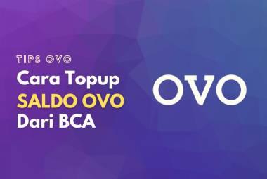 Cara melakukan top up saldo OVO pakai BCA