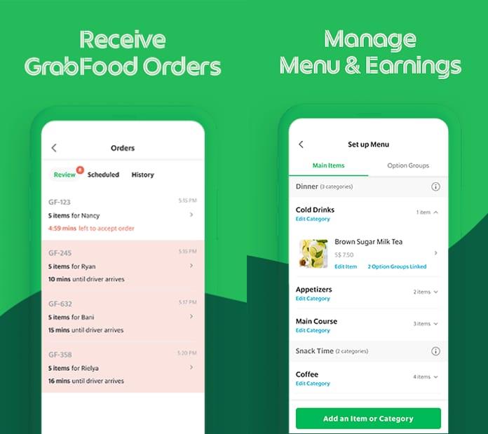 Aplikasi GrabMerchant hadir dengan fitur-fitur yang memudahkan.