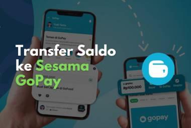 Transfer saldo GoPay ke sesama akun Gojek dapat dilakukan dengan mudah.